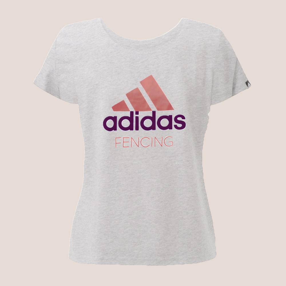 adidas T-shirt Damen (rosé)