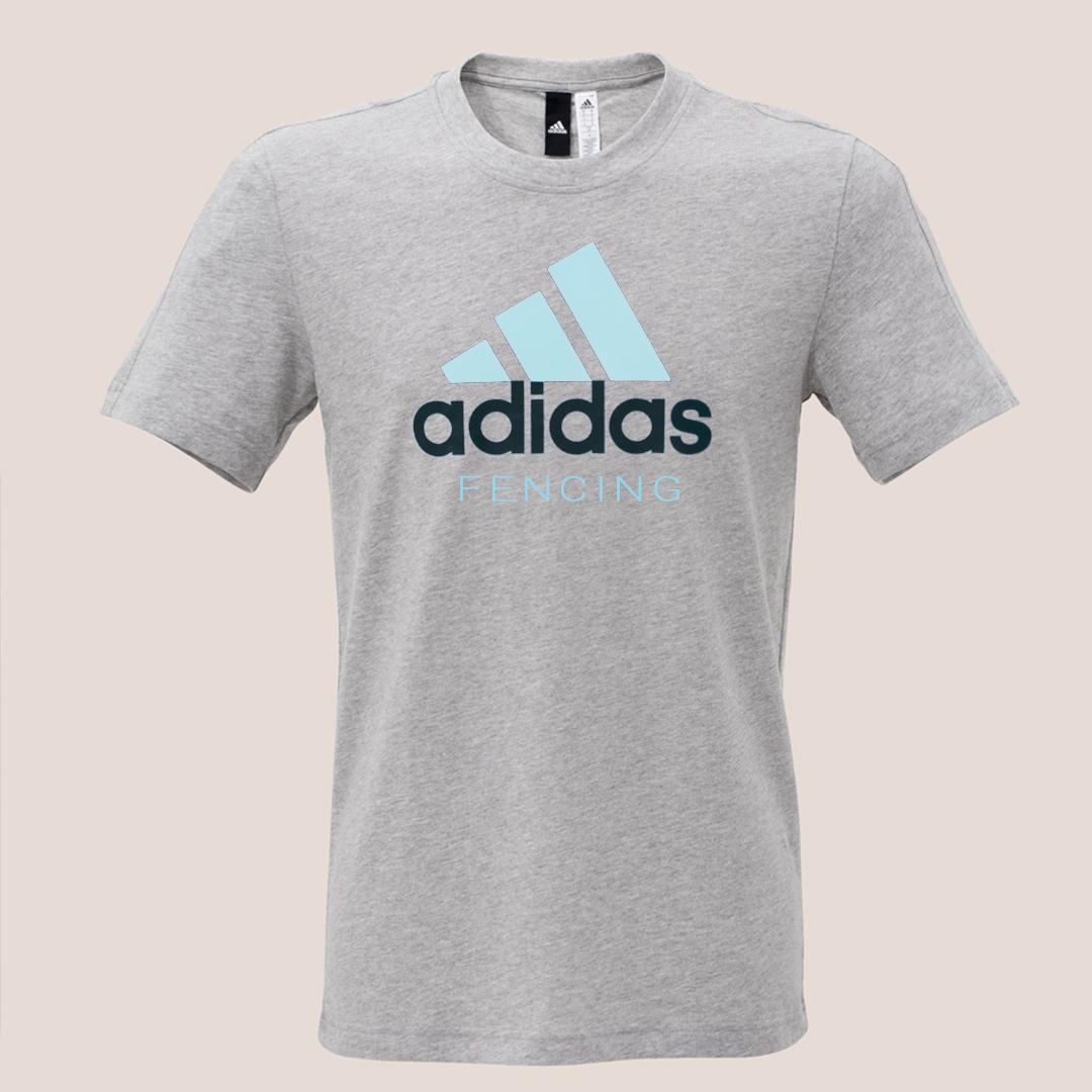 adidas T-shirt Herren (hellblau)