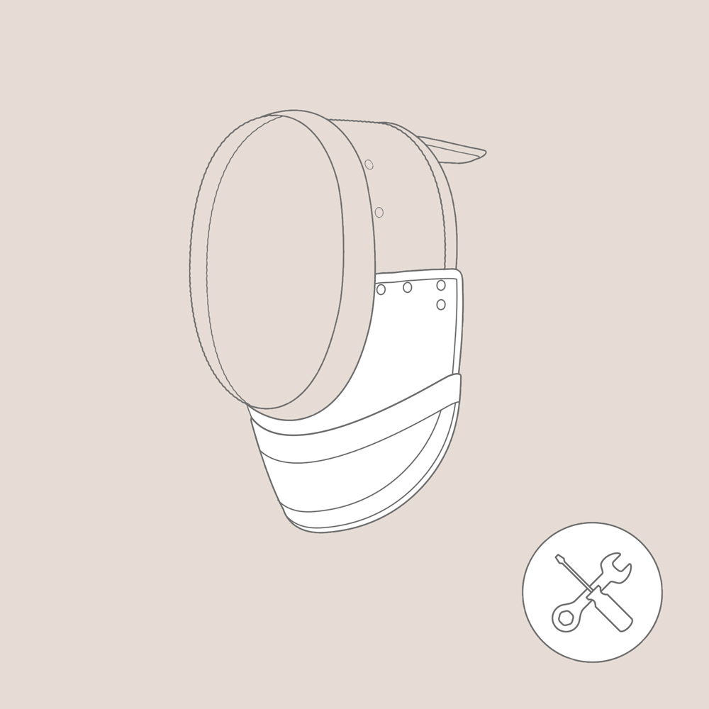 Replacement of the Bib FIE Foil Mask